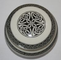 Trinket Box - Celtic Circlular Design